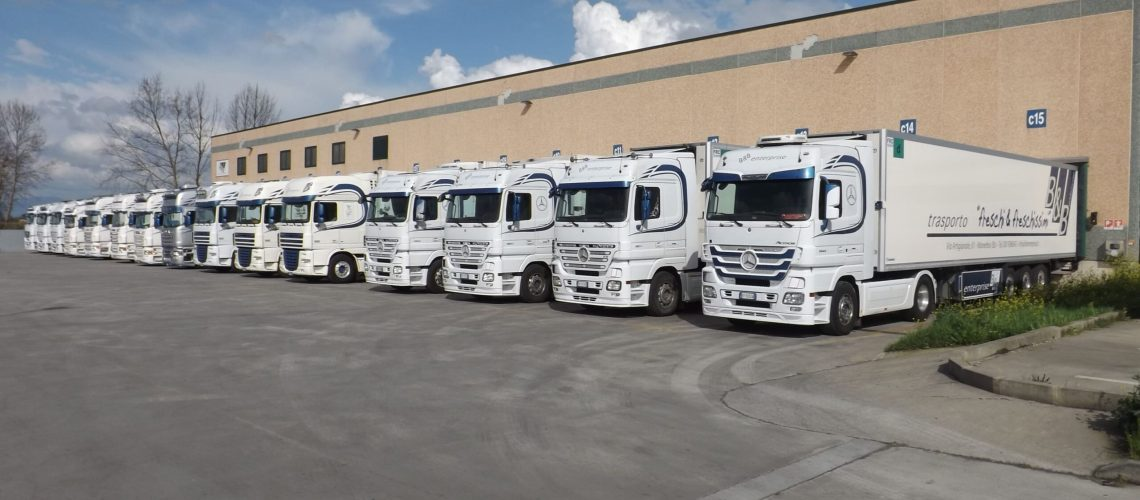 Autotrasporti B&B Enterprise - flotta